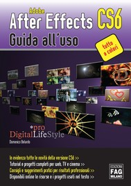 Adobe After Effects CS6 – Guida all'uso - copertina