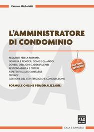 Amministratore di condominio (L') - copertina