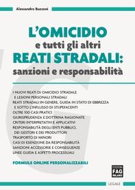 Omicidio e tutti gli altri reati stradali (L') - Librerie.coop