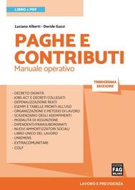 Paghe e contributi - copertina