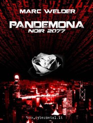 Pandemona - Noir 2077 - copertina