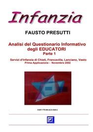Analisi del Questionario Informativo degli EDUCATORI Parte 1 - copertina