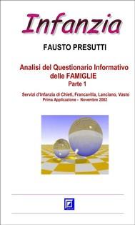 Analisi del Questionario Informativo delle FAMIGLIE Parte 1 - copertina