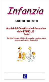 Analisi del Questionario Informativo delle FAMIGLIE Parte 2 - Librerie.coop