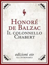 Il colonnello Chabert - copertina