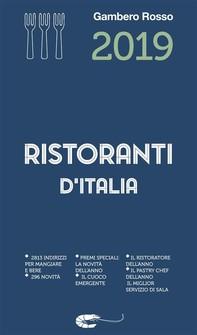 Ristoranti d'Italia 2019 - Librerie.coop
