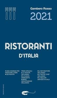Ristoranti d'Italia 2021 del Gambero Rosso - Librerie.coop