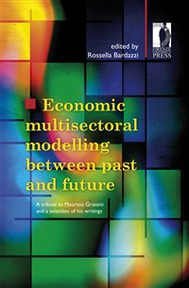 Economic multisectoral modelling between past and future - copertina