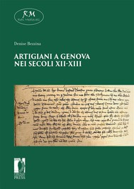 Artigiani a Genova nei secoli XI-XIII - copertina