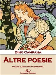 Altre poesie - copertina