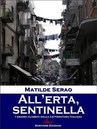 All'erta, sentinella - copertina