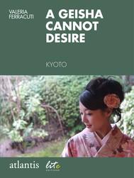 A geisha cannot desire - copertina