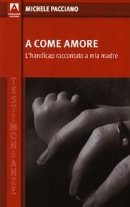 A come amore - copertina