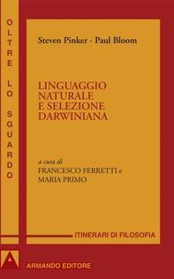 Linguaggio naturale selezione darwiniana - Librerie.coop