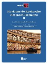 Horizons de Recherche - Research Horizons II - Librerie.coop