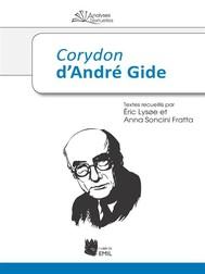 Corydon d'André Gide - copertina