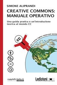 Creative Commons: manuale operativo - copertina