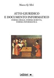 Atto Giuridico E Documento Informatico - copertina