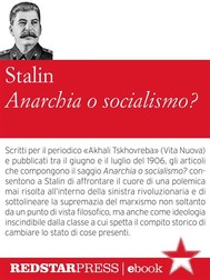 Anarchia o socialismo? - copertina