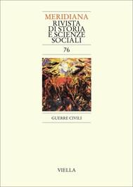 Meridiana 76: Guerre civili - copertina