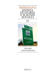 Meridiana 83: Welfare mediterraneo - copertina
