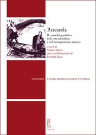 Barcarola - copertina