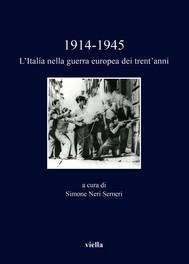 1914-1945. L'Italia nella guerra europea dei trent'anni - copertina