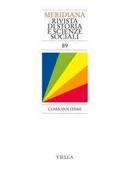 Meridiana 89: Cosmopolitismi - copertina