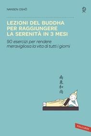 Lezioni del Buddha per raggiungere la serenità in 3 mesi - copertina