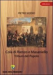 Cola di Rienzo e Masaniello. Tribuni del popolo - copertina