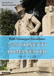 2.279 SONETTI ROMANESCHI - VOL. 1 - copertina