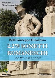 2.279 SONETTI ROMANESCHI - VOL. 10 - copertina