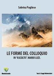 LE FORME DEL COLLOQUIO - copertina