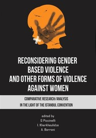 Reconsidering gender - based violence and other forms of violence against women - copertina