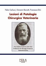 Lezioni di Patologia Chirurgica Veterinaria - copertina