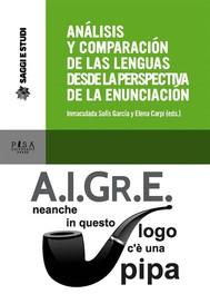 Análisis y comparacíon de las lenguas desde la perspectiva de la enunciación - copertina