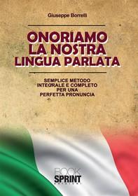 Onoriamo la nostra lingua parlata - Librerie.coop