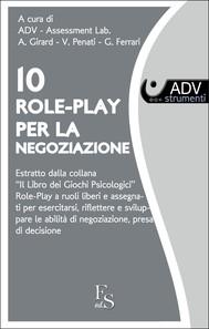 10 Role Play per la negoziazione - copertina