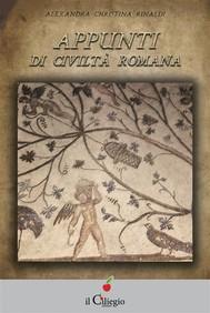 Appunti di civiltà romana - copertina