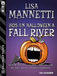 1925: Un Halloween a Fall River - copertina