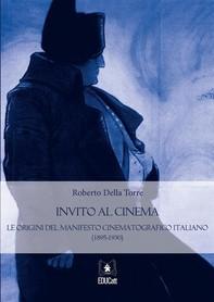 Invito al cinema. Le origini del manifesto cinematografico italiano (1895-1930) - Librerie.coop