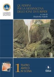 Quaderni per la Messinscena dello Ione di Euripide - copertina