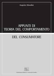 Appunti di teoria del comportamento del consumatore - copertina