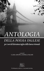 Antologia della poesia inglese - copertina