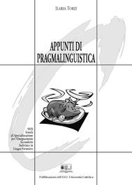 Appunti di pragmalinguistica. - copertina