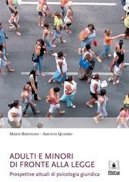 Adulti e minori di fronte alla legge - copertina