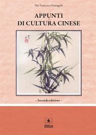 Appunti di cultura cinese - copertina