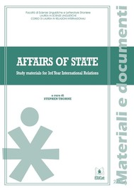 Affairs of state - copertina