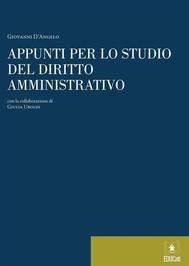 Appunti per lo studio del diritto amministrativo - copertina