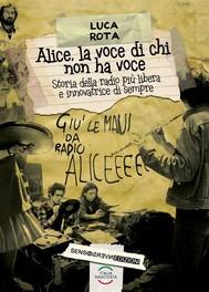 Alice, la voce di chi non ha voce - copertina